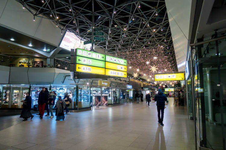Berlin Tegel Airport Terminal