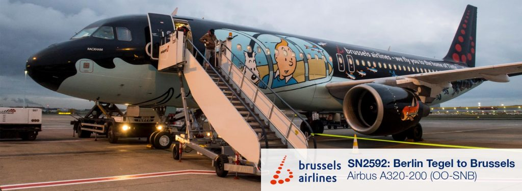 Review: Brussels Airlines A320 Economy Class from Berlin Tegel to Brussels