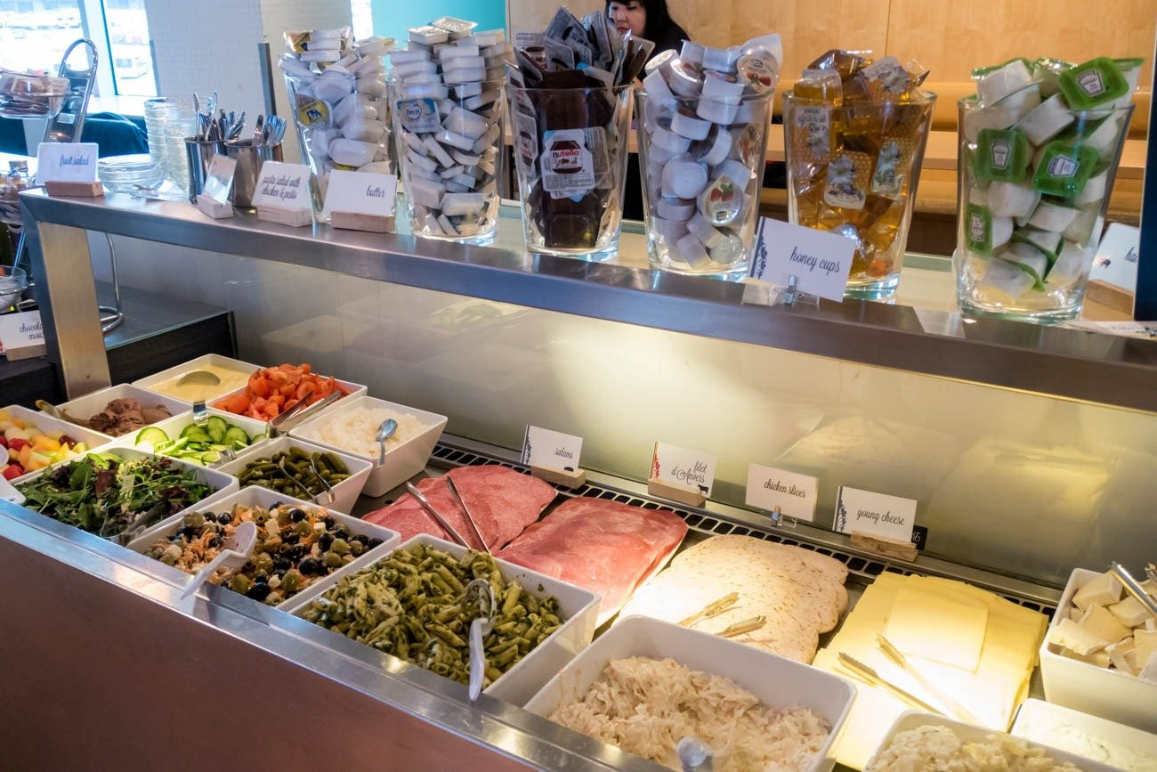 Diamond Lounge Brussels Cold Cuts and Salads