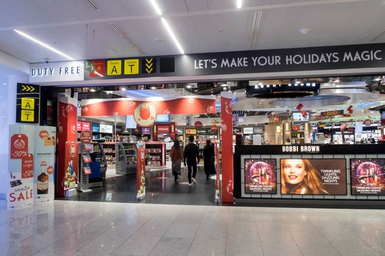 Brussels Airport Duty Free Shopping Area