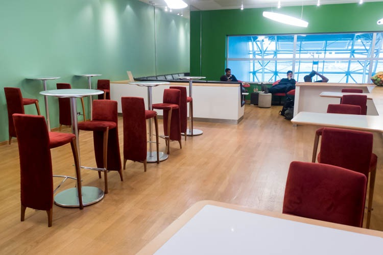 Diamond Lounge Brussels Dining Area