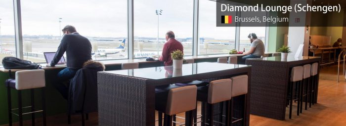 Review: Diamond Lounge (Schengen) at Brussels Airport