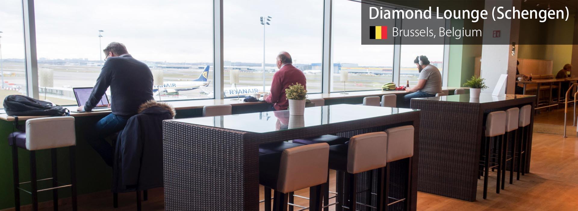 Review: Diamond Lounge (Schengen) at Brussels Airport