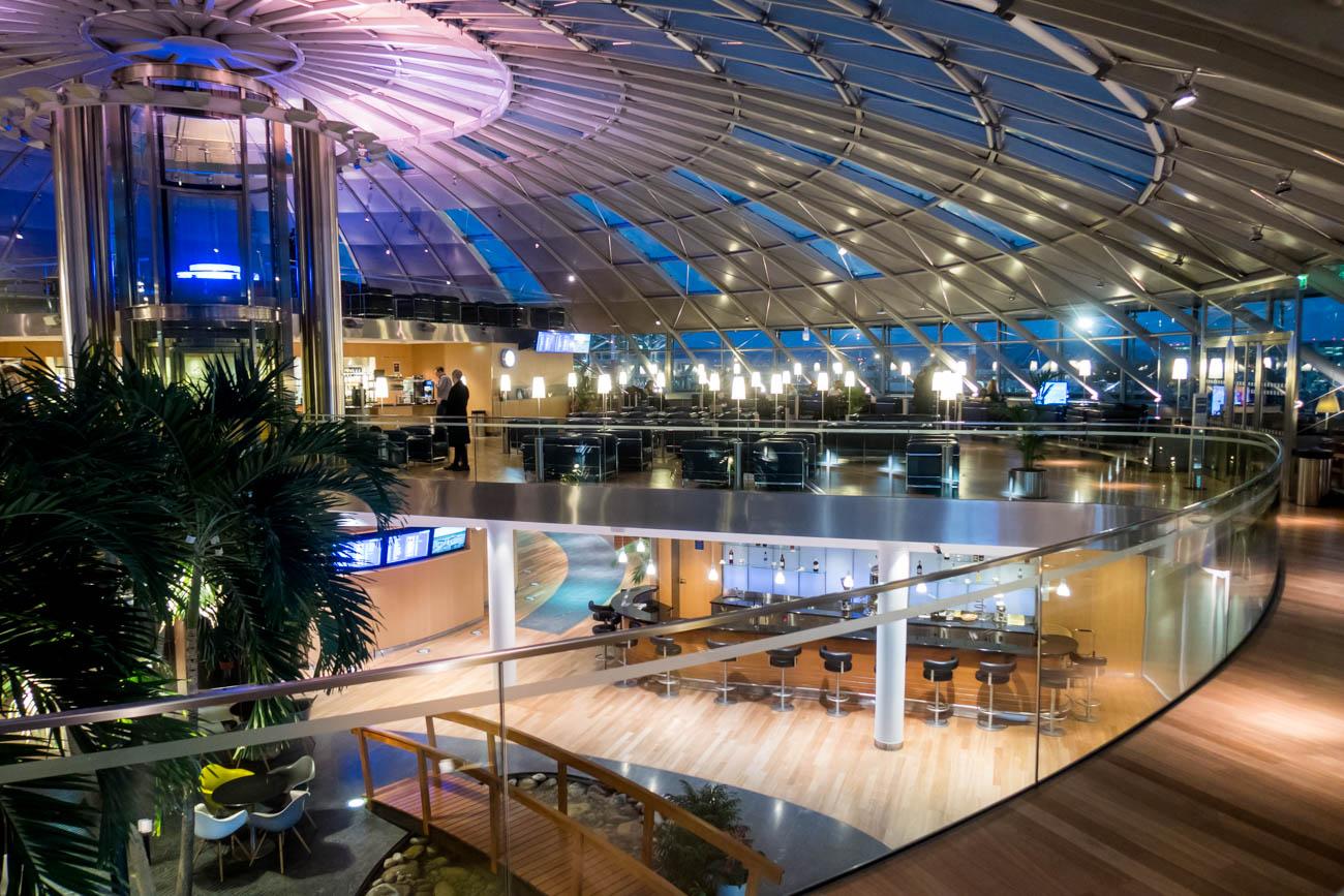 Basel EuroAirport Skyview Lounge Second Floor