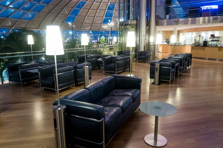 Basel EuroAirport Skyview Lounge Seating