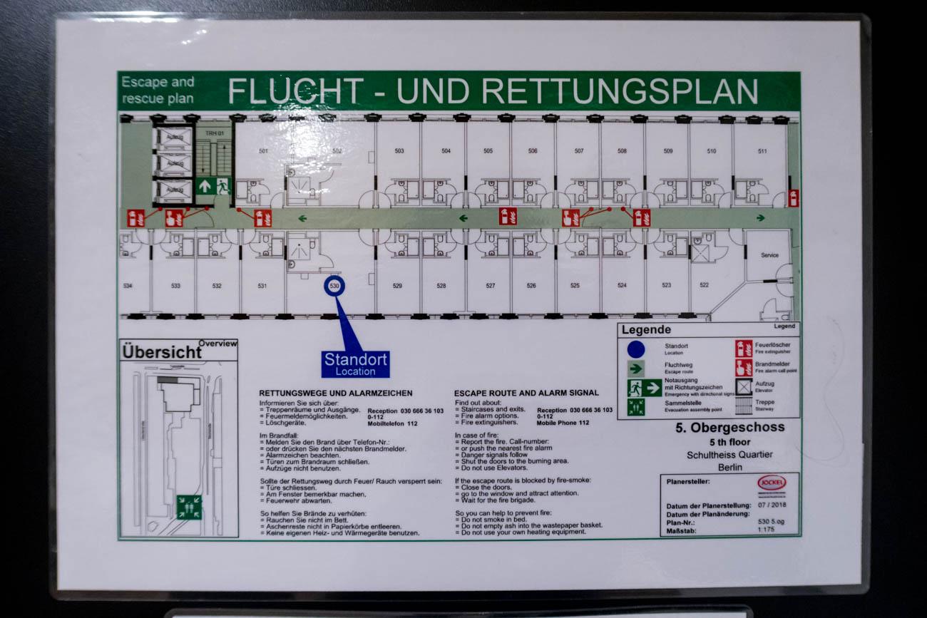Meininger Hotel Berlin Tiergarten Floor Plan