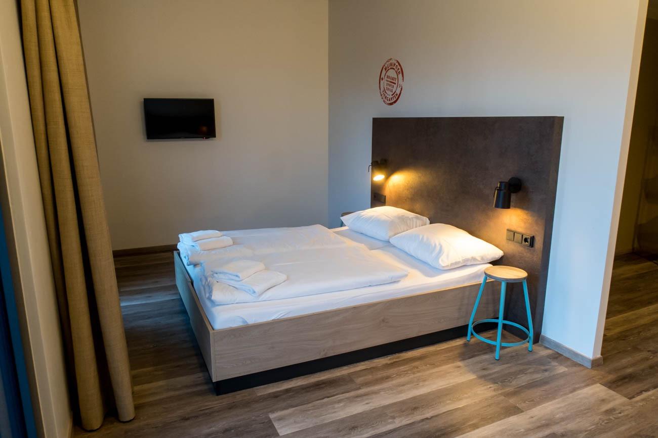 Meininger Hotel Berlin Tiergarten Bed