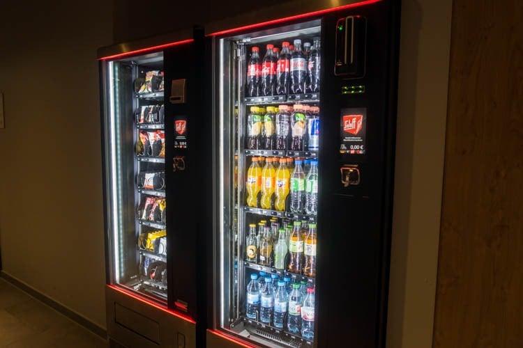 Meininger Hotel Berlin Tiergarten Vending Machines