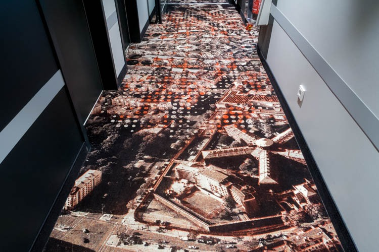 Meininger Hotel Berlin Tiergarten Carpet