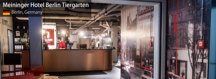 Review: Meininger Hotel Berlin Tiergarten Near Tegel Airport