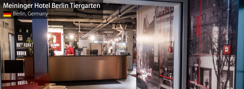 Review: Meininger Hotel Berlin Tiergarten Near Tegel Airport