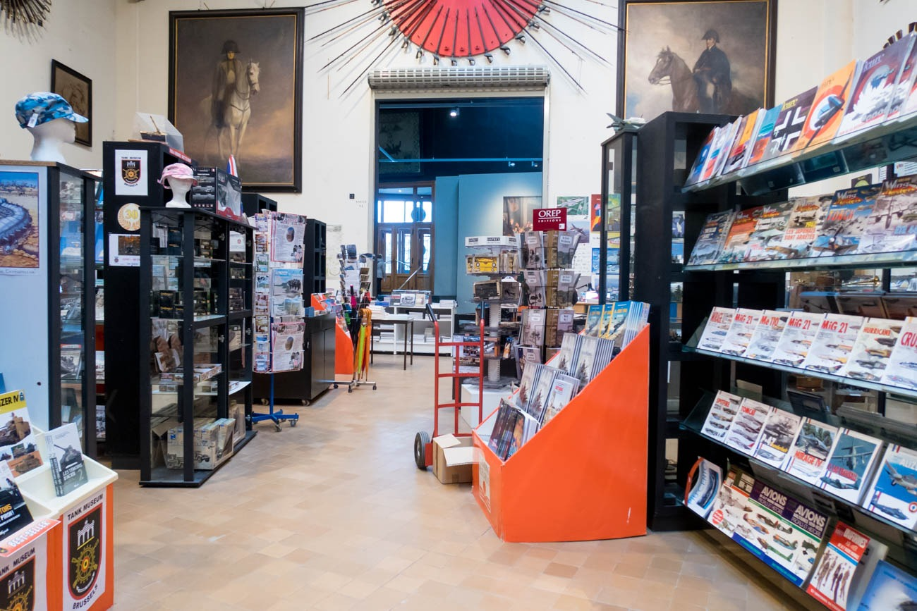 Royal Museum of the Armed Forces and Military History Shop