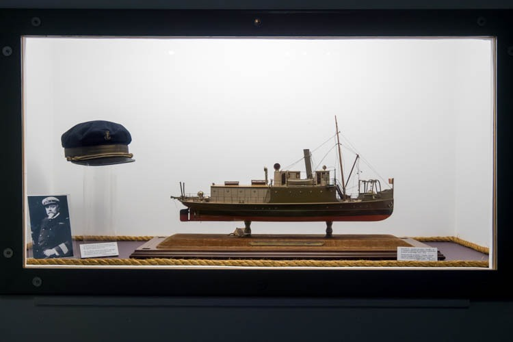 Belgian Military Ship Model