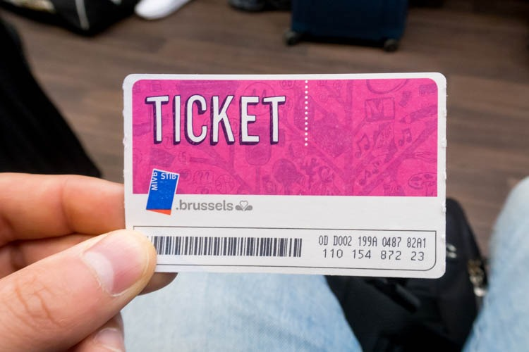 Brussels Bus Ticket
