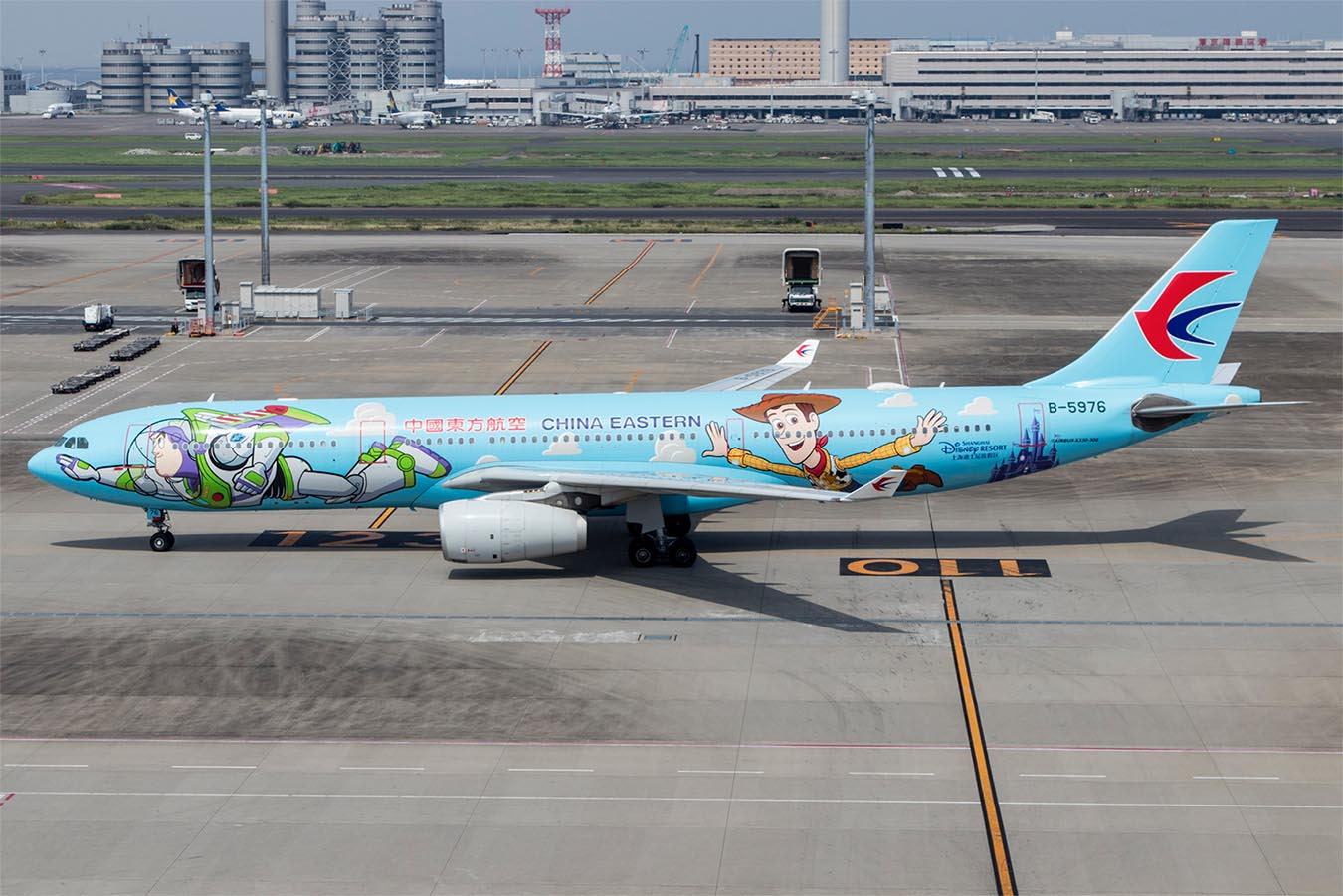 China Eastern A330 Toy Story