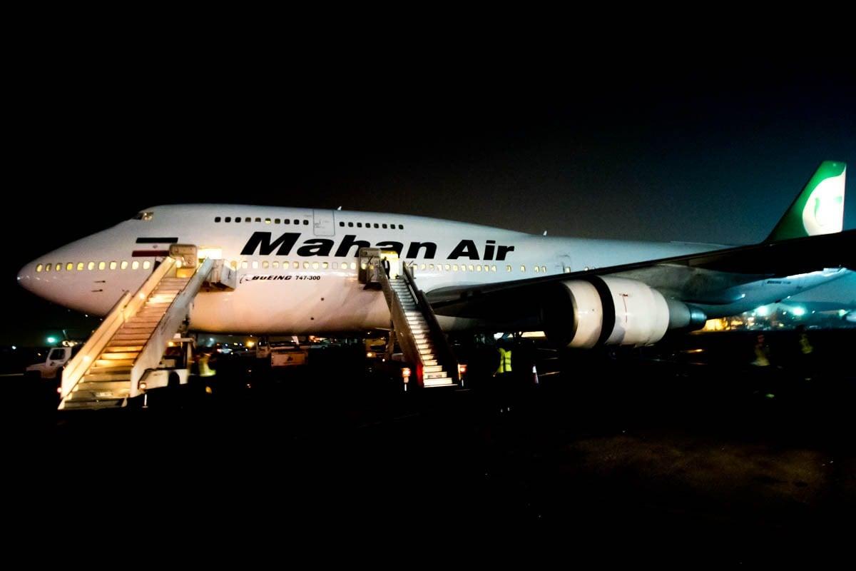 Mahan Air 747-300