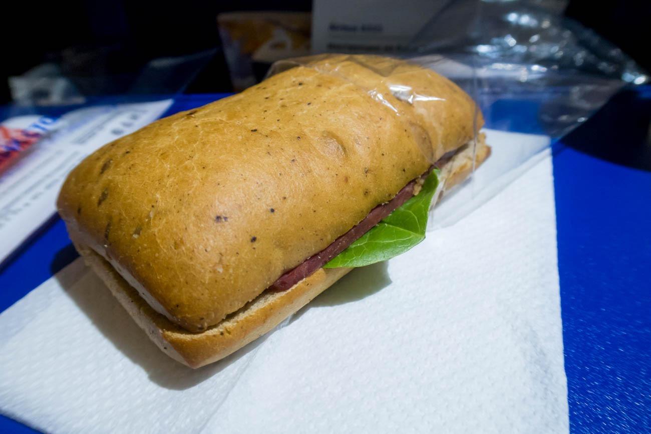 Aeroflot Short-Haul Economy Class Snack