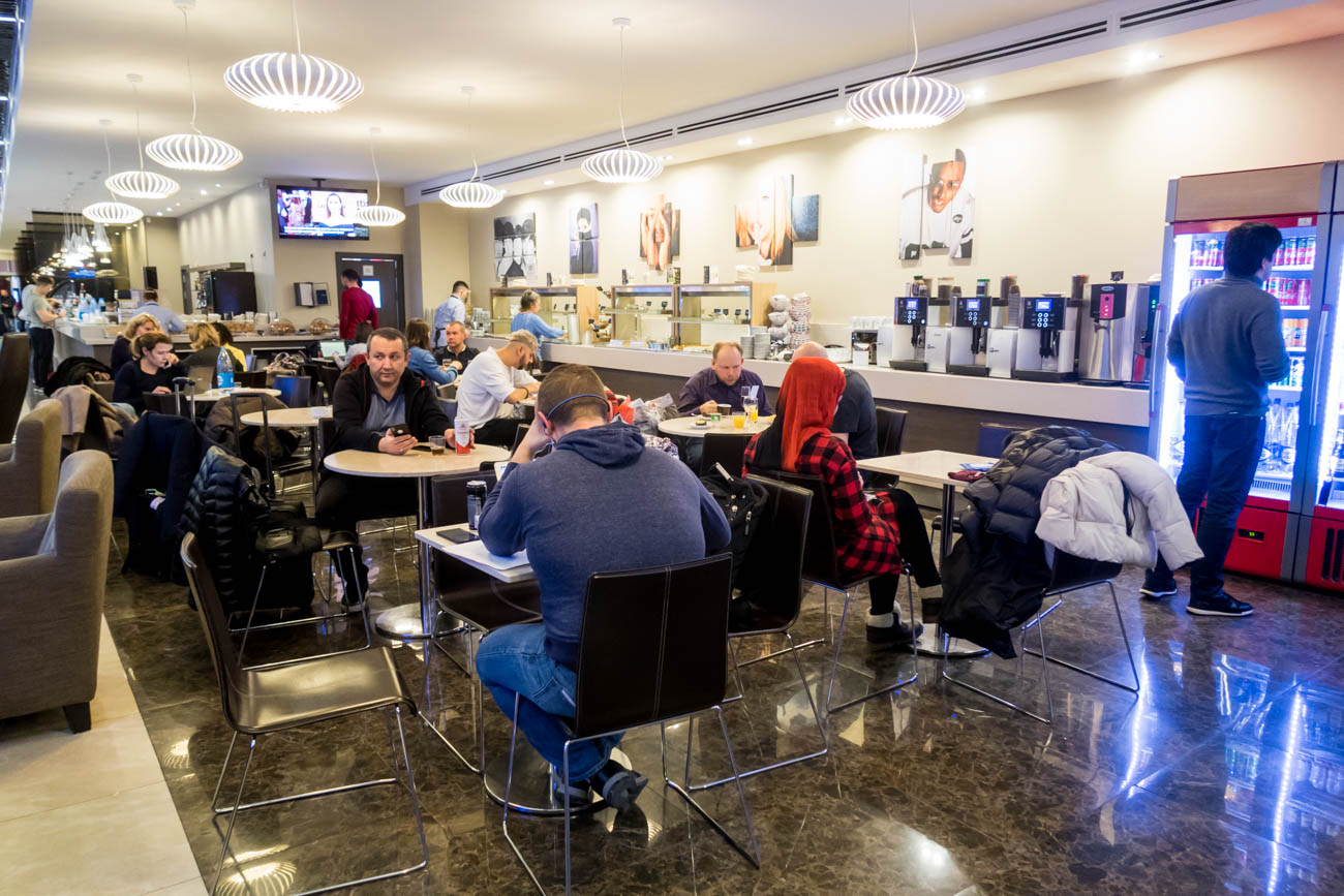 All Star Lounge Moscow Sheremetyevo Dining Area