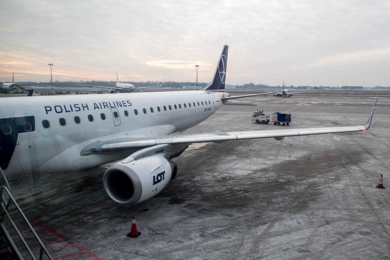 LOT Polish Airlines Embraer EMB-195