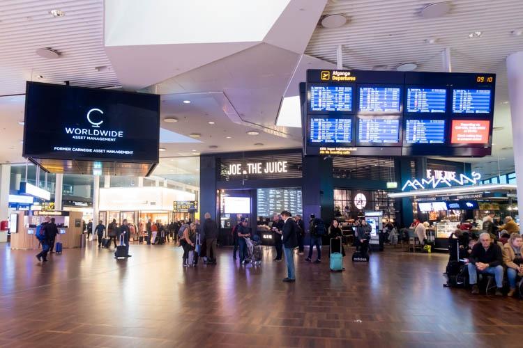 Copenhagen Airport Terminal