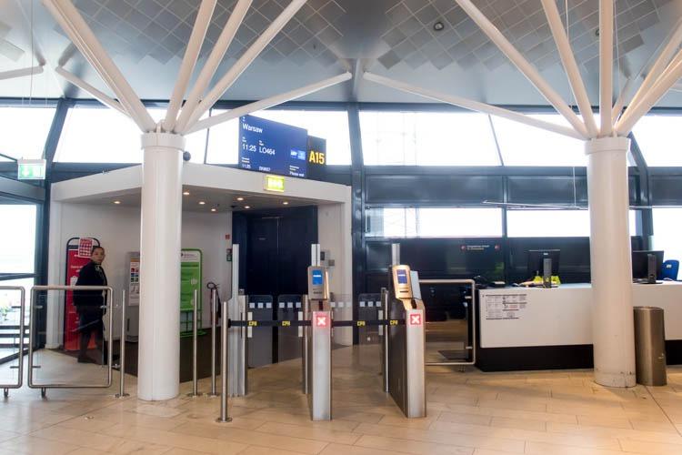 Gate A15 at Copenhagen Airport