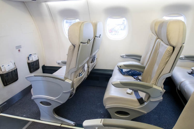 LOT Polish Airlines Embraer EMB-195 Seats