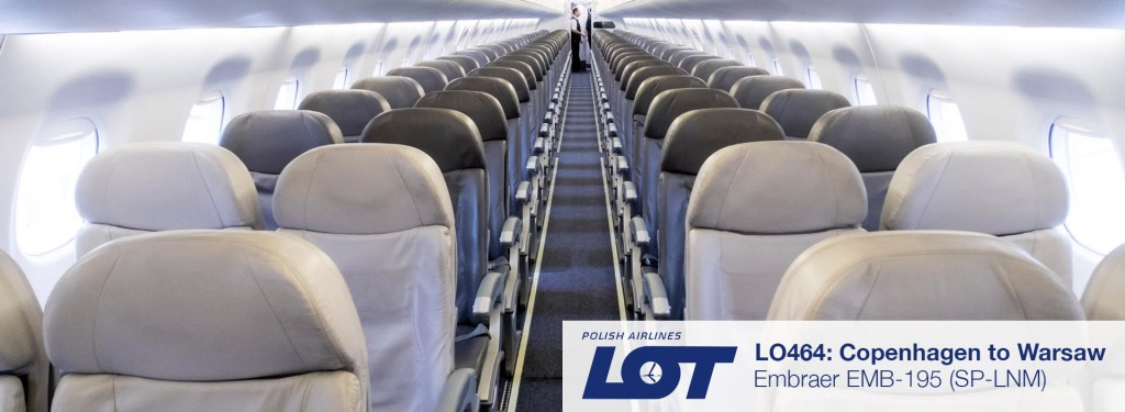 Review: LOT Polish Airlines EMB-195 Business Class from Copenhagen to Warsaw