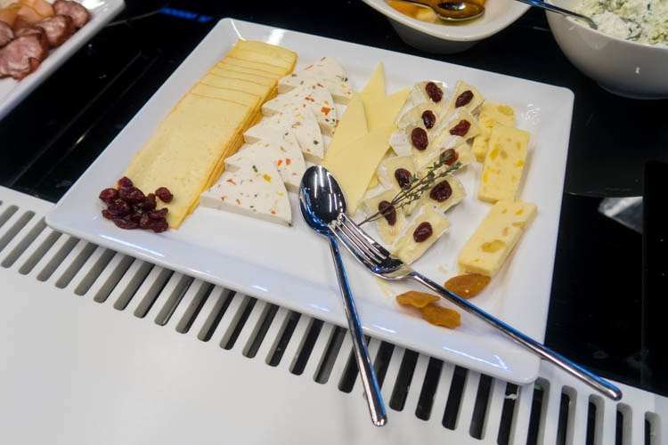 Cheese in Mazurek Lounge in Warsaw