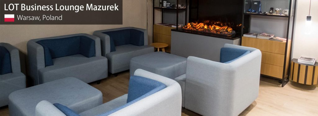 Review: LOT Business Lounge Mazurek at Warsaw F. Chopin