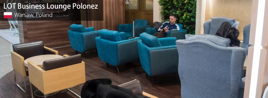 Review: LOT Business Lounge Polonez at Warsaw F. Chopin