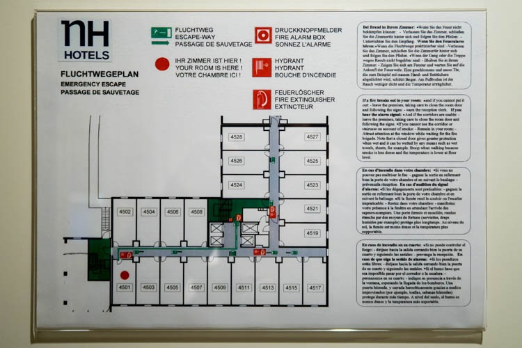 NH Hotel Vienna Airport Floor Plan