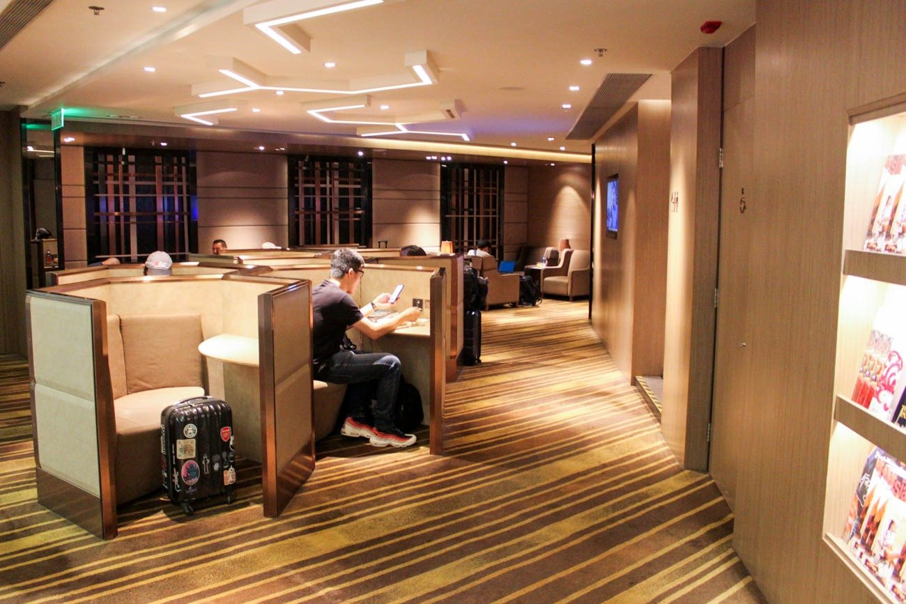 Plaza Premium Lounge Hong Kong (West Hall) Business Center