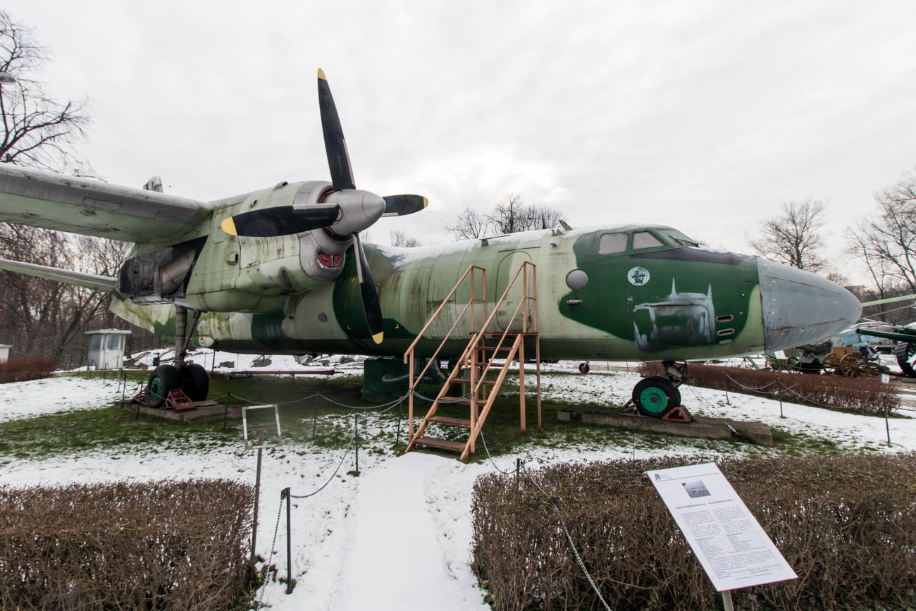 Polish Air Force Antonov An-26 in the Polish Army Museum
