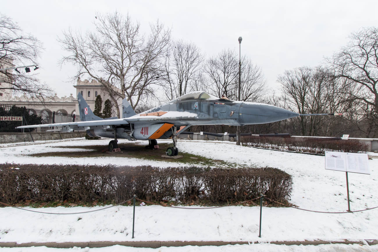 Mikoyan-Gurevich MiG-29 in the Polish Army Museum