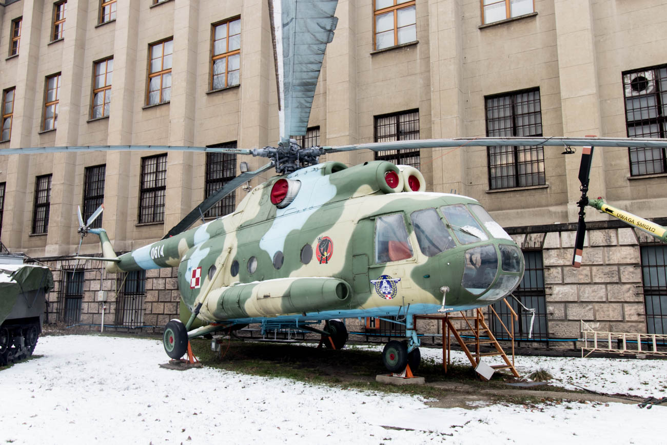 Mil Mi-8 in the Polish Army Museum