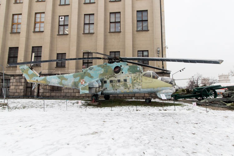 Mil Mi-24 in the Polish Army Museum