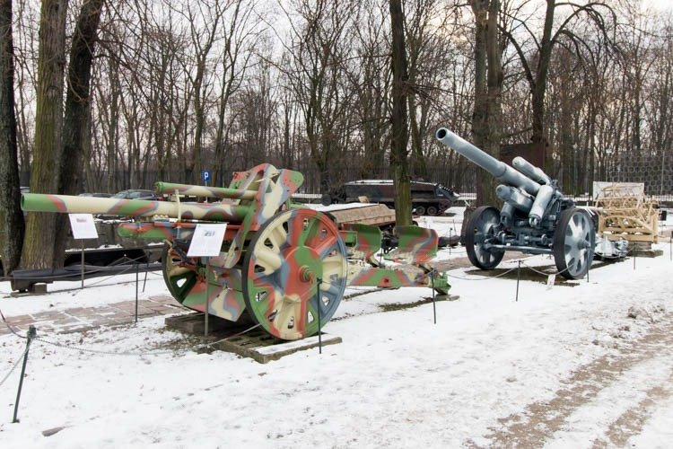 Artillery in the Polish Army Museum