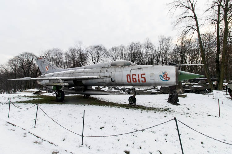 Mikoyan-Gurevich MiG-21 in the Polish Army Museum