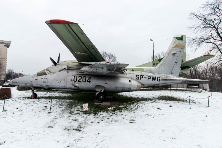 PZL-Mielec I-22 Iryda in the Polish Army Museum