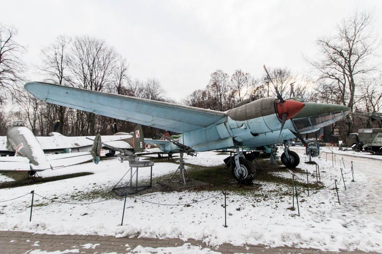 Tupolev Tu-2S in the Polish Army Museum