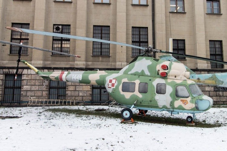 Mil Mi-2 in the Polish Army Museum