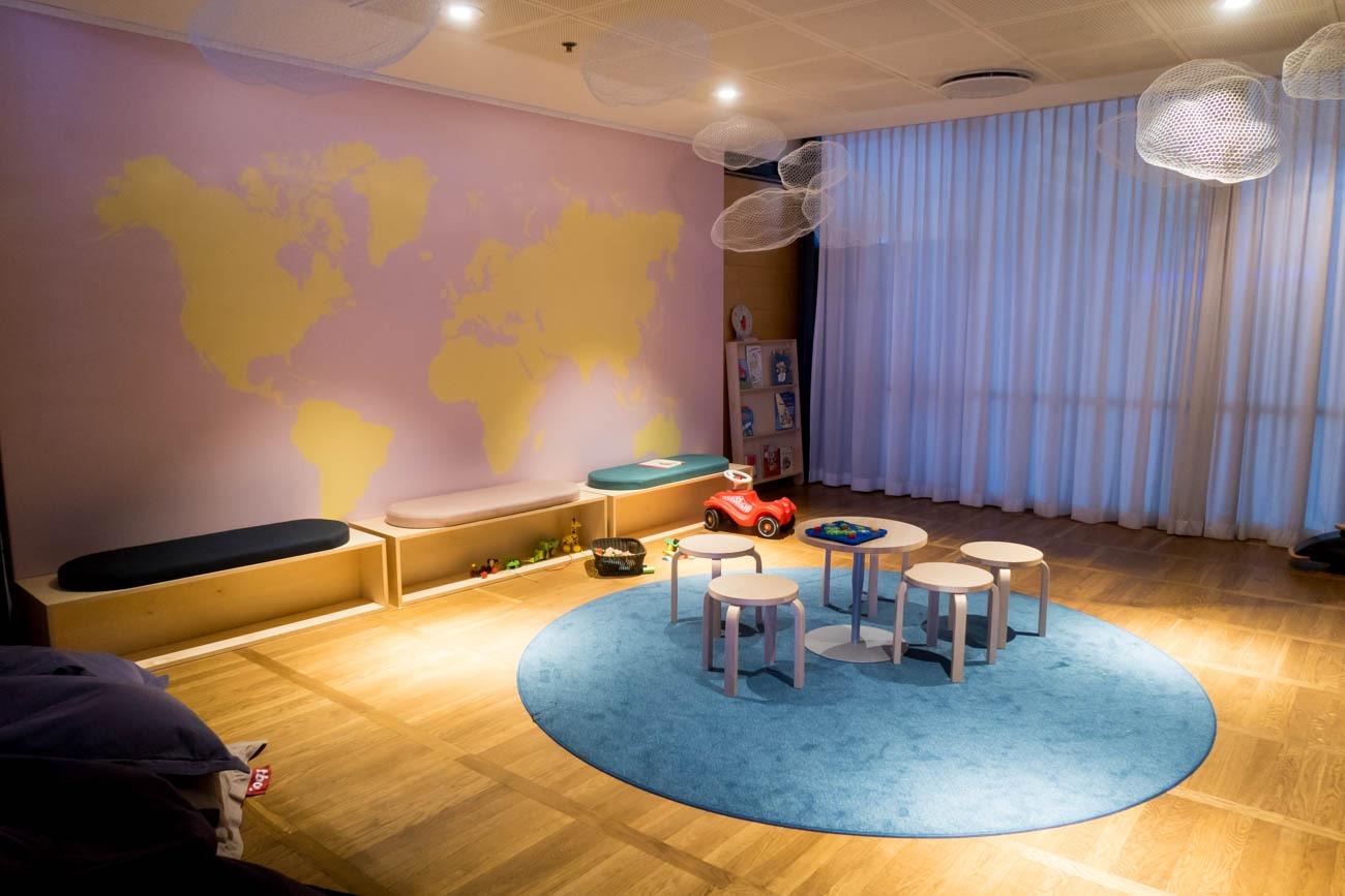 SAS Business Class Lounge Kids Room