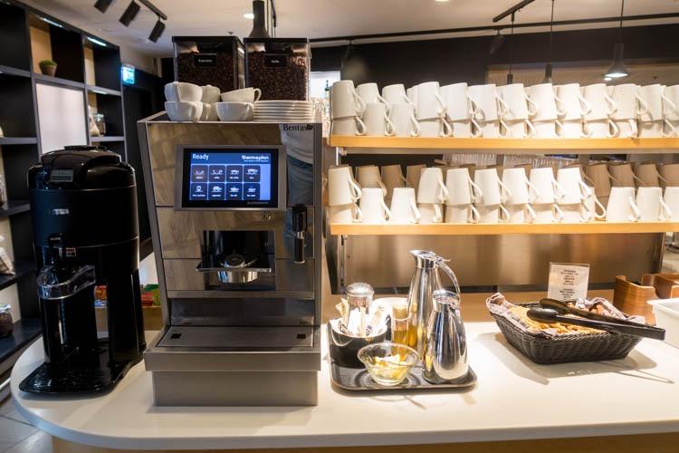 SAS Lounge Copenhagen Coffee