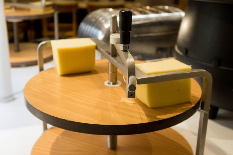 SAS Lounge Copenhagen Cheese