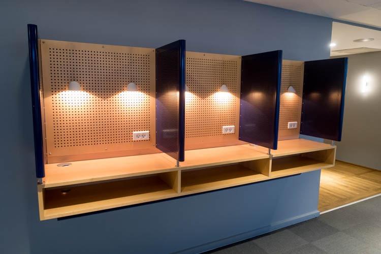 SAS Lounge Copenhagen Phone Booths