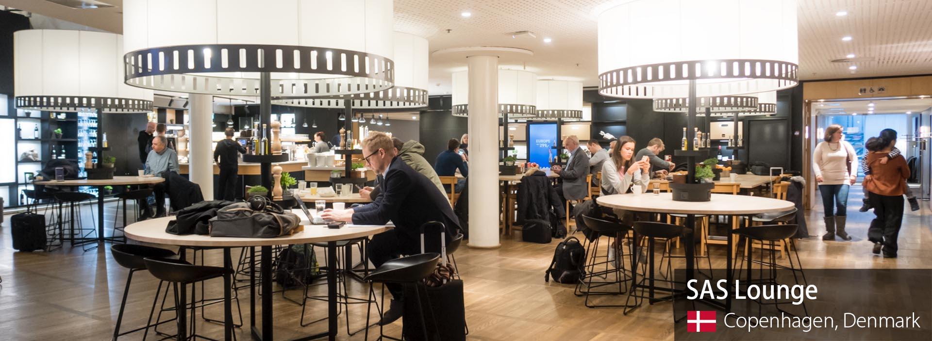 Review: SAS Business Class Lounge at Copenhagen Kastrup
