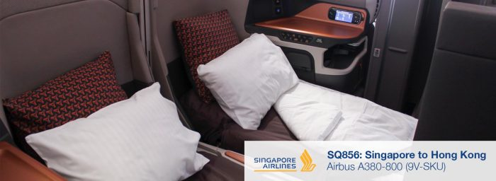 Review: Singapore Airlines A380 New Business Class from Singapore to Hong Kong