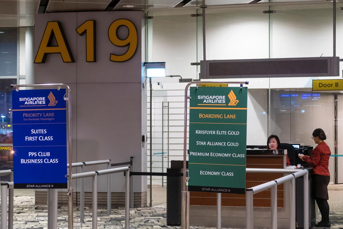 Finding Your Boarding Gate