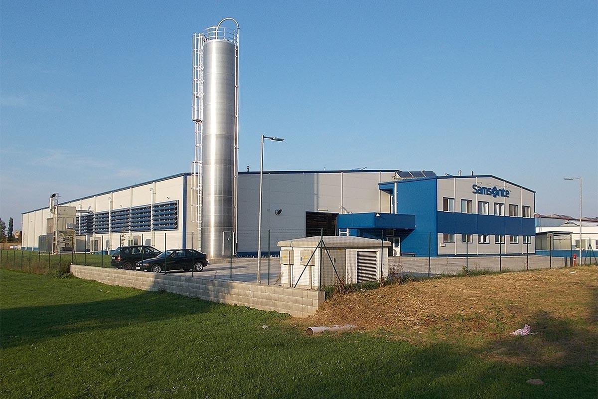 Samsonite Factory in Hungary