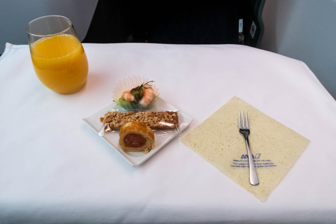 ANA Medium-Haul Business Class Amuse-Bouche